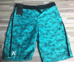 "$35 Hurley Boardshorts Boy's Youth Size 16/28"" Trunks Cl"