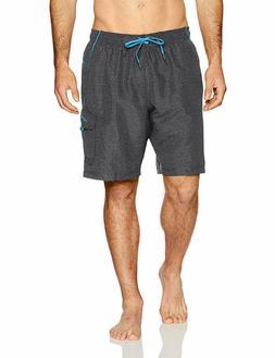 $42 Speedo Men's Marina Volley Swim Trunks Board Shorts  784