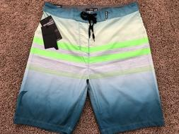 $50 BRAND NEW HURLEY SOUTHSWELL MENS  BOARD SHORTS AQUA 29 3