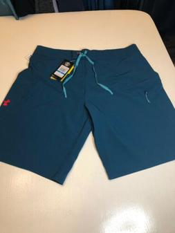 "$50 Under Armour Reblek Men's Size 36"" Board Shorts Teal"