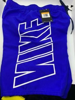 "$52 Nike 9"" Volley Swim Trunks Board Shorts Men's Size S"