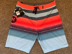 $55 - BRAND NEW HURLEY PHANTOM MENS BOARD SHORTS GAVIOTA BDS