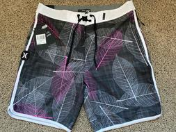 $55 - BRAND NEW HURLEY PHANTOM MENS BOARD SHORTS FOLIAGE 30