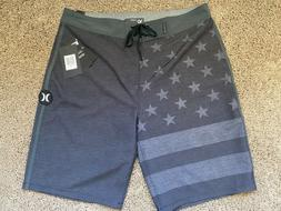 $55 BRAND NEW HURLEY PHANTOM  MENS BOARD SHORTS CASA GREEN 3