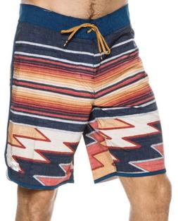 $55 Billabong Platinum 73 X Lineup Board Shorts Swim Blue Or