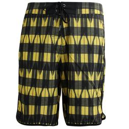 Nike 6.0 Skateboarding Mens Board Shorts Black Yellow 404587