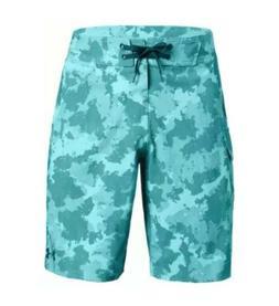"$60 Under Armour Reblek Men's Size 36"" Board Shorts Teal"