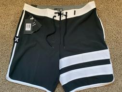 $65 BRAND NEW HURLEY PHANTOM MENS BOARD SHORTS BLACK BDST 28
