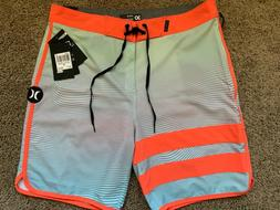 $65 BRAND NEW HURLEY PHANTOM MENS BOARD SHORTS STATIC BDST 4