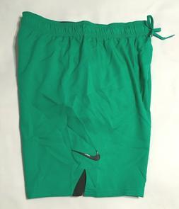 "Nike 7"" Volley Men's Swim Shorts NESS 8432 Green M  L XL"