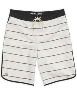 Billabong 19 Inch 73 Og Stripe Board Shorts Rock Mens Size 3