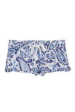 Billabong XS 6/6X Little Girls Blue White Board Shorts Elast