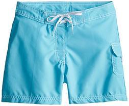 Kanu Surf Big Girls' Sassy Boardshorts, Aqua, X-Large
