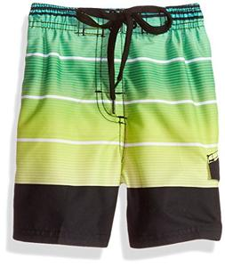 Kanu Surf Little Boys' Echelon Stripe Quick Dry Beach Board