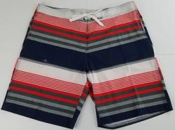 Kanu Surf Men's Optic Stripe Board Shorts Size 38