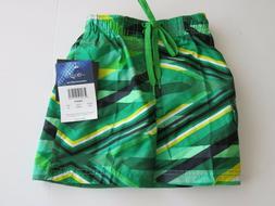 Kanu Surf Toddler Boys 4T  Surf Swim Board Shorts Green Mesh