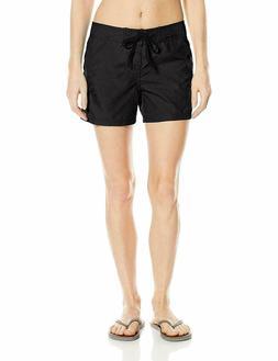 Kanu Surf Womens 8100 Breeze Board Shorts Color: Raspberry s