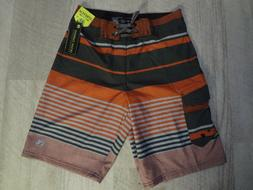 Men's Ocean Current Boardshorts Striped Swim Trunks Size 28