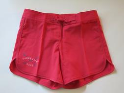 Billabong 7 Billy Girl/'s Sol Searcher Board Shorts Raspberry Dark Pink Anchor