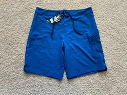Under Armour Storm Stretch Moroccan Blue Swim Board Shorts 3
