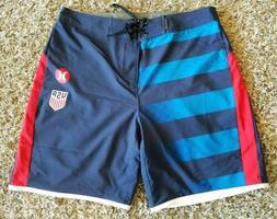 Mens Hurley Phantom USA National Team Away Size 30 Boardsho