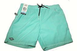 Billabong All Day Layback Green Board Shorts - Size XL Short