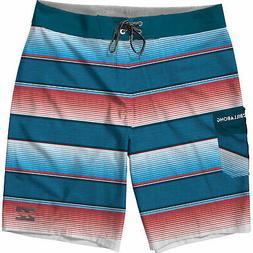Billabong All Day OG Stripe Boardshorts Mens Sz 32