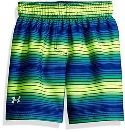 Under Armour Big Boys' Volley Swim Shorts, Fuel Green, M