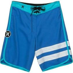 Hurley Big Kids'  Print Reveal Block Party Boardshorts - Fou