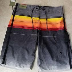 Goodfellow board shorts black multicolor size 30 waist