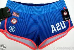 Hurley Board Shorts Phantom USA Olympic  Elasticated Waist S