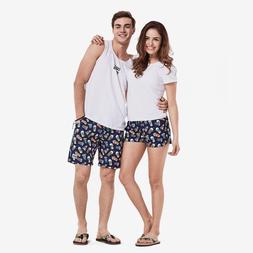 Board Shorts Sexy Quick Dry Polyester Pockets Lady Elastic S