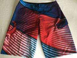 ~Quiksilver~ Board Shorts Stretch Surf Swim Trunks -Men's 33