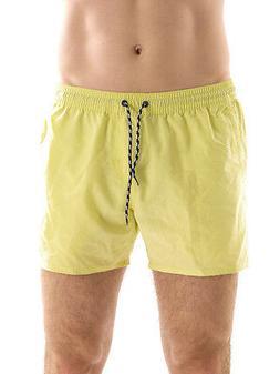 Brunotti Boardshort cacktus Swimshorts Yellow Drawstring Mes