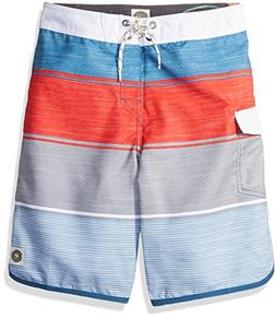 Rip Curl Boys' Big Good Times Boardshort, red, 26