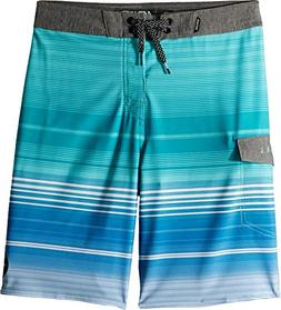 Rip Curl Boys' Big Mirage Disclosure Boardshort, Teal/Tea, 2