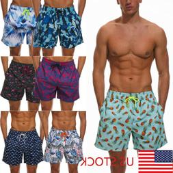 Boys Mens Swimming Board Shorts Swim Shorts Trunks Swimwear