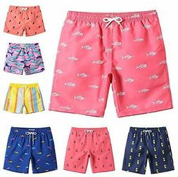 MaaMgic Boys Swim Trunks Toddler Swim Shorts Swimwear Comfor