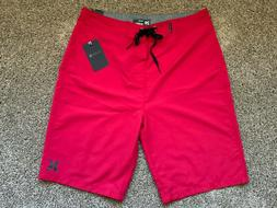 BRAND NEW HURLEY MENS BOARD SHORTS RED ONE AND ONLY BOARDSHO