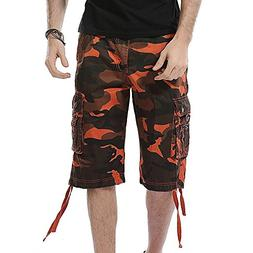 Casual Shorts for Men Kstare Camouflage Pocket Beach Work Sh