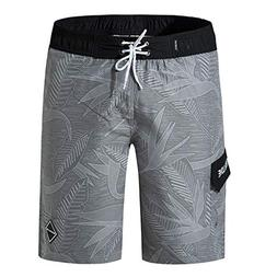 Casual Shorts Men's Summer Swim Trunks Printing Patchwork Be