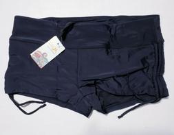 Micosuza Classical Women's Swim Bottoms Boardshorts Black XL