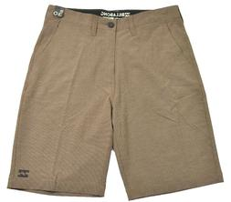 Billabong CROSSFIRE X Bark Brown Striped 4-Way Stretch Subme