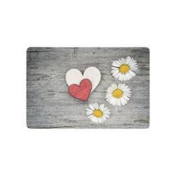 cushion love hearts daisy flowers