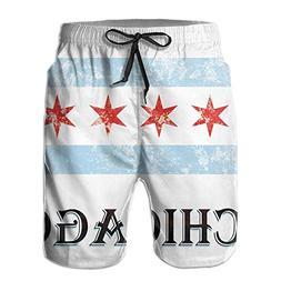 distressed chicago city flag men s summer