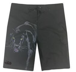 E9 - Nike 6.0 Board Shorts - NWT Mens Size 36 Black / Panthe