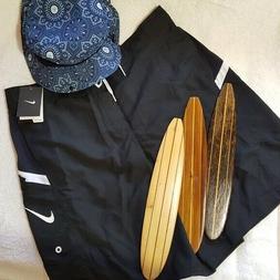 **FREE GIFT**NIKE MEN'S BOARDSHORTS, BLACK,SWIM SURF XL NWT