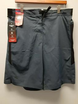 Speedo Granite Boardshorts with Size Zip Pocket, Large