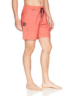 Hurley Men's Apparel Men's Heather Textured Volley Swim Boar