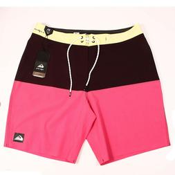 Quiksilver Highline Division Pro 19in Boardshorts Size 34